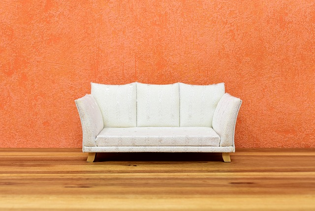 painted wall sofa